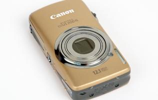 Canon IXUS 200 IS - The IXUS Touch (Now with Video!)