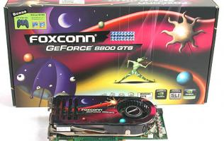 Foxconn GeForce 8800 GTS 320MB Overclocked Edition