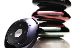 First Looks: Samsung YP-S2 MP3 Player