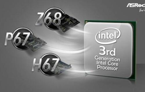 ASRock Takes Ivy Bridge CPUs to Z68, P67 and H67 Series Motherboards!