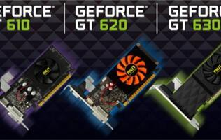 Palit GeForce GT 610/620/630 Graphics Cards Announced