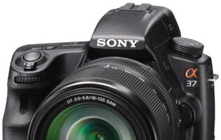 Sony Releases Its SLT-A37 and NEX-F3 Cameras