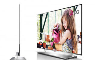 More Scoops on LG's Upcoming 55-inch OLED TV