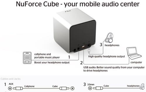 NuForce Introduces Its All-in-One Mobile Audio Center