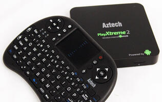 Aztech PlayXtreme 2 - Gingerbread-flavored Media Player