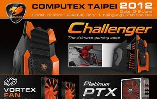 Cougar Set to Showcase Latest Gaming Equipment at Computex 2012