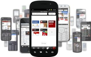 Opera Mini 7 with Smart Page Now Available For Basic Mobile Phones