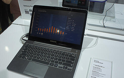 Quick Hands On with Samsung's New Series 5 Ultra Touch & Ultra Convertible Ultrabooks