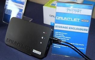 Patriot's Gauntlet Node Offers DIY Portable Wireless Storage Media Solution