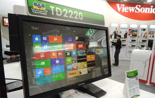 Quick Hands On with ViewSonic's Touch Displays & More From Computex 2012