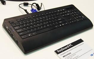 Intel Ivy Bridge Compatible Keyboard PCs Spotted at Computex 2012