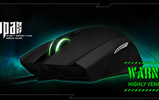 Razer Taipan Ambidextrous Gaming Mouse Unleashed