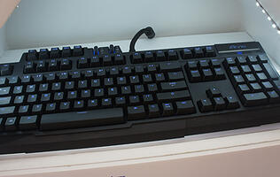Gigabyte Shows Off New Aivia Keyboard, Mouse & Skyvision at Computex 2012