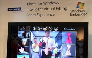 Microsoft's Kinect - Perfect Partner for Virtual Fitting Room Experience