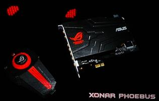 ASUS Xonar Phoebus Sound Card Set Projects 'Cone of Clarity'