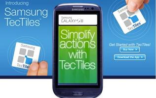 Samsung US Introduces TecTiles NFC Stickers (Update)