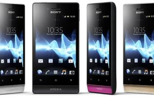 Sony Mobile Extends Xperia Family with Xperia Miro and Xperia Tipo