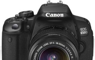 Canon Announces Availability of EOS 650D and EF 40mm f/2.8 STM Pancake Lens