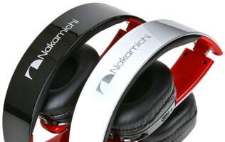 Nakamichi Flaunts Its New 2.4GHz Wireless Headphones