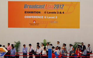 BroadcastAsia 2012 - Sights and Sounds, Tech and Trends
