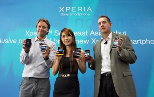 Sony Mobile Xperia Mayhem - Six New Phones: Ion, Acro S, Go, Neo L, Miro & Tipo (Updated with Video)