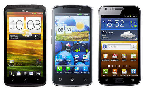 4G LTE Phones Shootout - The Fast and the Furious Trio