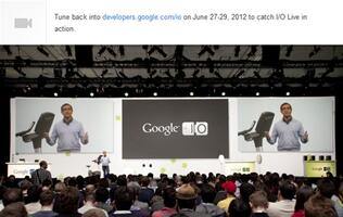 Google to Stream I/O Keynotes Live on June 27th and 28th