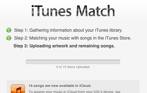 iTunes Match in Singapore Does Not Have Access to Full Library