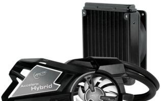 Accelero Hybrid 7970 Graphics Card Cooler Announced