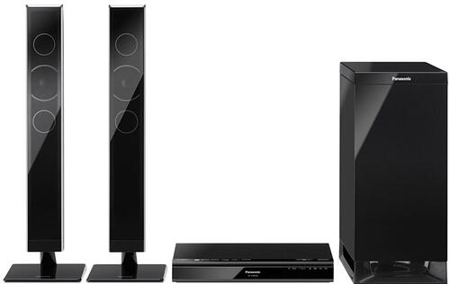 First Looks: Panasonic SC-HTB550 2.1-channel Home Theater Audio System
