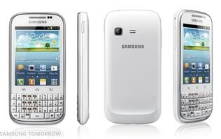 Samsung's Android 4.0 Galaxy Chat to Have Full QWERTY Keyboard