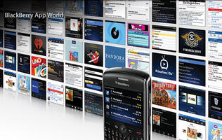 Blackberry App World Exceeds Three Billion Downloads