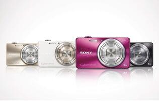 Sony's Cyber-shot WX170 Packs a 10x Optical Zoom Lens in a Slim Body