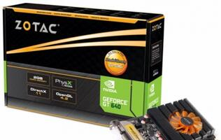 Zotac GeForce GT 640/630 Zone Edition Graphics Cards Announced