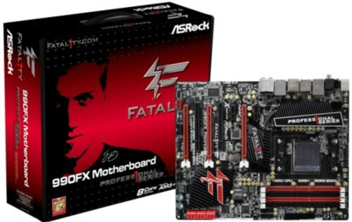 ASRock's Fatal1ty 990FX Professional - First Mobo to Support AMD AMP Memory