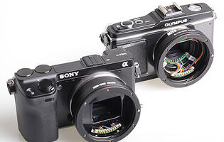 Kipon Electronic Adapters Let You Mount Canon EF Lenses on Sony NEX and Micro Four Thirds Cameras