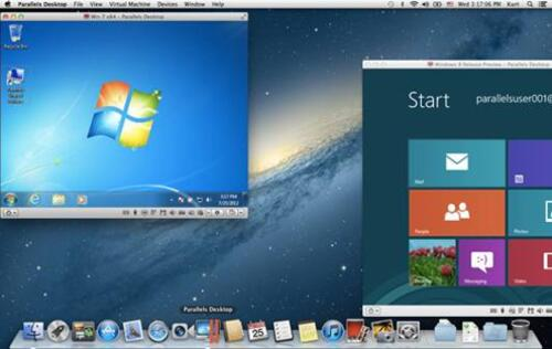 Parallels Desktop 7 for Mac Supports Mountain Lion