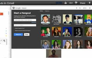 Gmail Now Comes with Google+ Hangouts