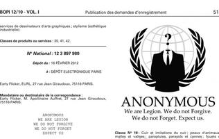 French Retailer Seeks to Trademark Anonymous Logo; Anonymous Strikes Back