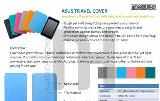 Google Nexus 7 Accessories Surface