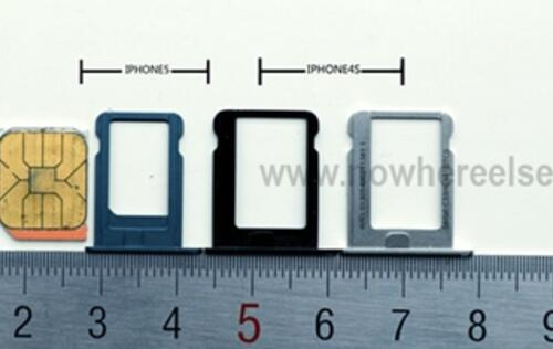 Alleged Photos of iPhone Nano SIM Tray and Home Button Leaked
