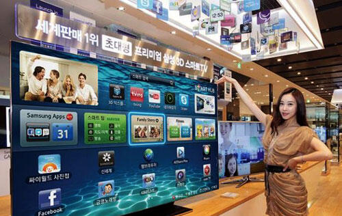 Coming Soon: Samsung's Massive 75-inch ES9000 LED TV to a Living Room Near You