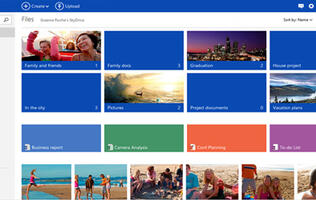 SkyDrive Revamped for Windows 8