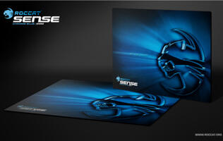 Roccat Sense Chrome Blue High Precision Gaming Mousepad Unleashed
