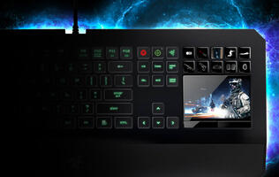 Razer Flaunts DeathStalker Ultimate Keyboard and Kraken Headset