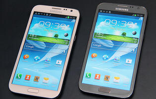 Hands-on: Samsung Galaxy Note II (Updated with Video)