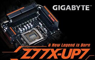 Gigabyte Launches Flagship Z77X-UP7 Motherboard