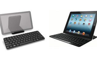 Microsoft Wedge Mobile vs. Logitech Ultrathin Keyboard Cover - Clash of the Tablet Keyboards