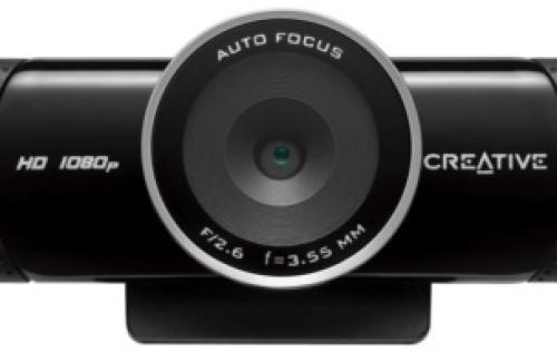 d02a5dd0ad0 Creative Announces Live! Cam Connect HD 1080   Sync HD Webcams ...