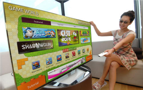 LG Opens Game World for Convenient Access to Smart TV Games